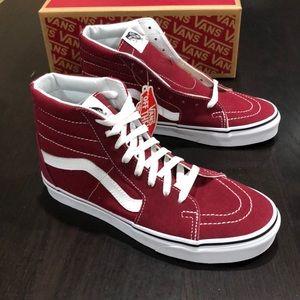 Vans Sk8-Hi Rumba Red